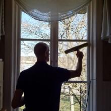 Projekt fönsterputs Sundbyholm Slott